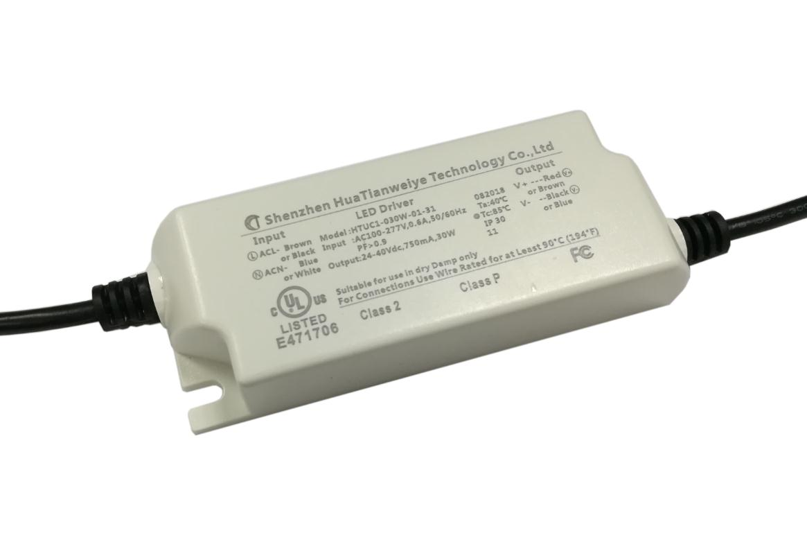 30W indoor led constant current driver UL cUL